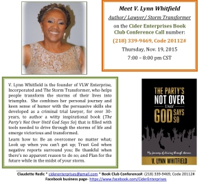 L. Whitfield Author Showcase