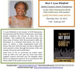 L. Whitfield Author Showcase