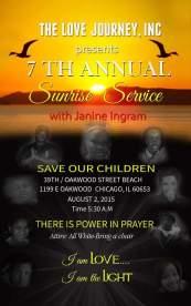 The Love Journey, Inc. Annual Sunrise Service